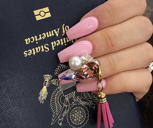 barbie, manicure, and nails image