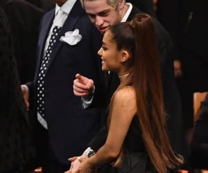 ariana grande and pete davidson image