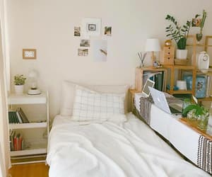 room, bedroom, and nature image