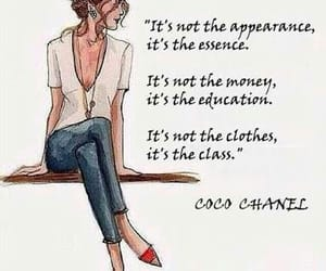 class, fashion, and coco chanel image