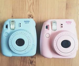 polaroid, blue, and tumblr image