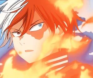 gif, boku no hero academia, and anime image