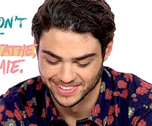 actor, noah centineo, and funny face image