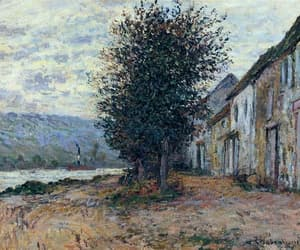 claude monet, nature, and vintage image