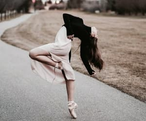 dance, fall, and girl image