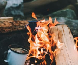 fire and tea image