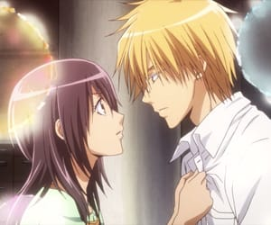 anime, usui, and couple image