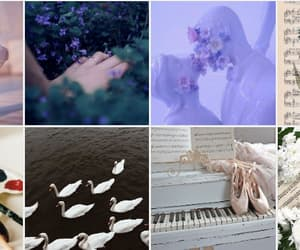 aesthetic, violet, and art image