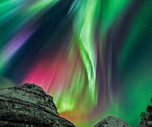 aesthetic, northern lights, and norway image