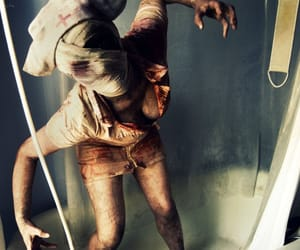 nurse, silent hill, and horror image