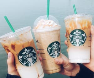 coffee, frappuccino, and latte image