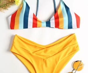 amarelo, beach, and colors image