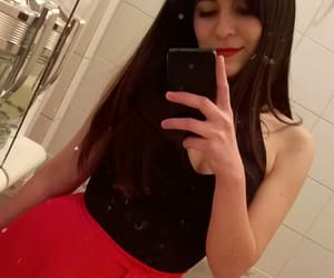 black, red, and cami cejas image