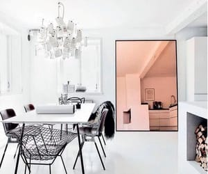 design, living room, and mirror image