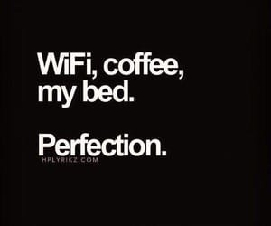bed, coffee, and wifi image