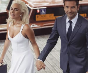 venice, Lady gaga, and bradley cooper image