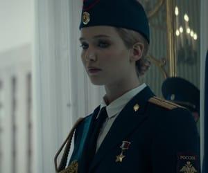 Jennifer Lawrence, red sparrow, and dominika egorova image