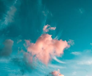 background, beautiful, and clouds image