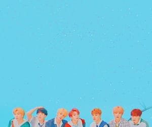 blue, tumblr, and bts image