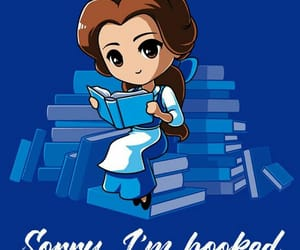 belle, books, and read image