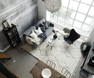 bedroom, industrial, and living room image