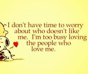 love, quotes, and snoopy image