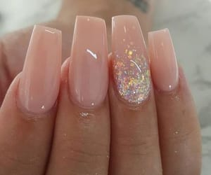 nails, pink, and girl image