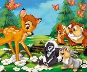 bambi, 🌺, and 💗 image
