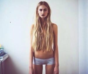 nice girl, thin, and thinspo image