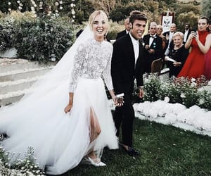wedding, fedez, and married image
