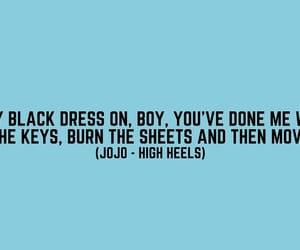 JoJo // high heels