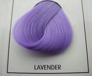 hair, pink, and lavender image