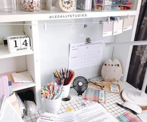 desk and school image