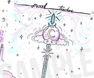 crystal, magic, and magic wand image