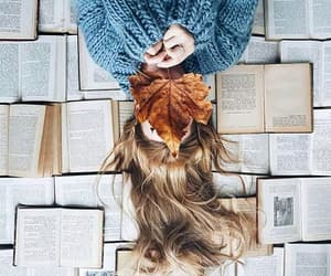 book, photography, and autumn image