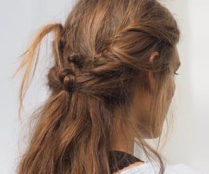 beauty, braided hair, and braid image
