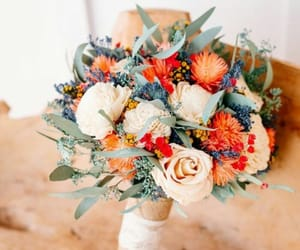 bouquet, wedding, and colorful image