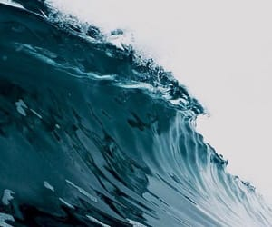 ocean, waves, and blue image