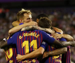Barca, goals, and happy image