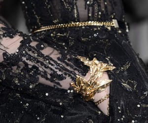 fashion, black, and details image