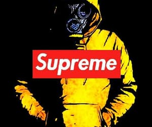 background, supreme, and toxic image
