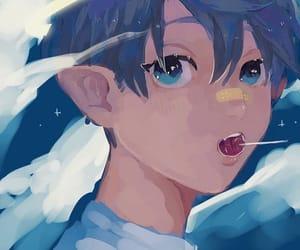 ao no exorcist, rin okumura, and blue exorcist image