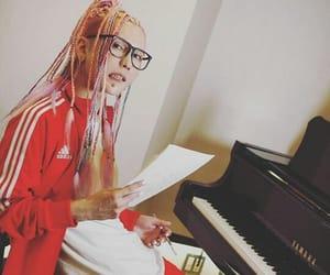 adidas, music, and piano image