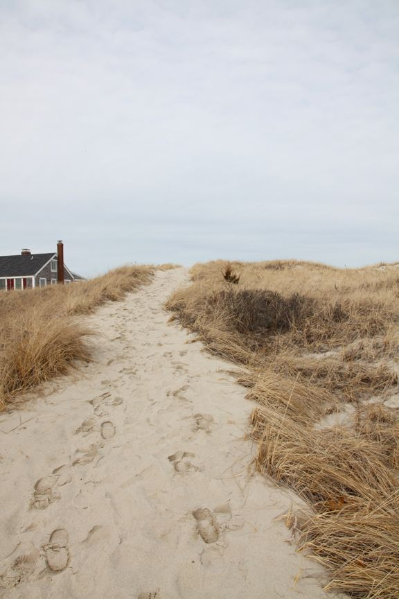 beach, sand, and house image