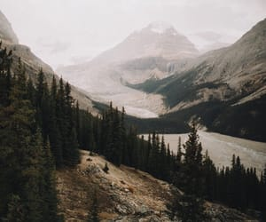 mountains, nature, and river image