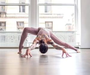 fit, splits, and yoga poses image