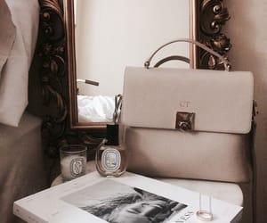bag, magazine, and mirror image