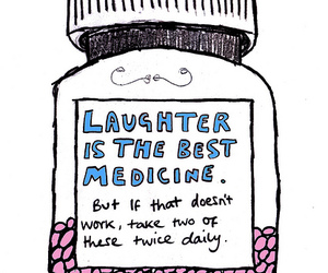 blue, laugh, and laughter image