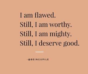 I know what I deserve