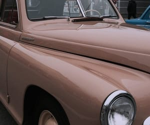 car, cream, and vintage image